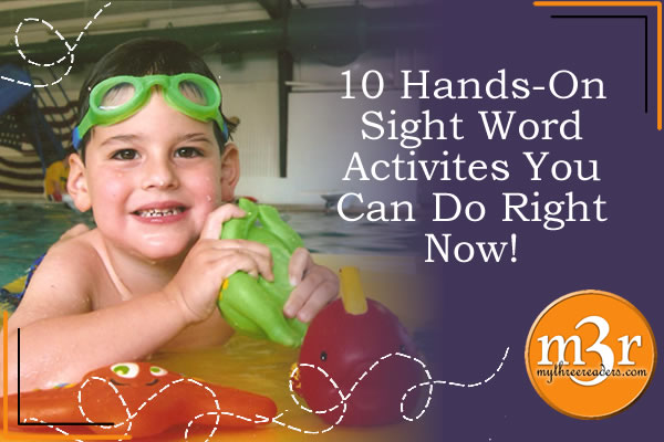 10 Hands On Sight Word Activities