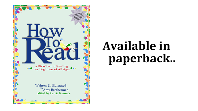 Available in paperback: How to Read: a Kick-Start for Beginners of Any Age