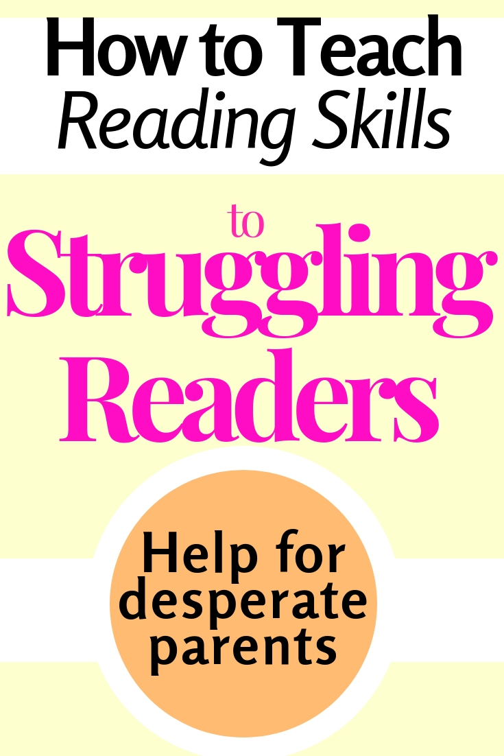 How to teach reading skills to struggling readers