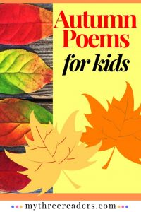 9 Autumn & Fall Poems for Kids That Encourage Fluency & Comprehension