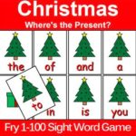 Christmas Sight WordGame