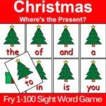 Christmas Sight WordGame