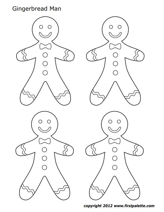 Gingerbread Coloring Page, Stocking Coloring Pages