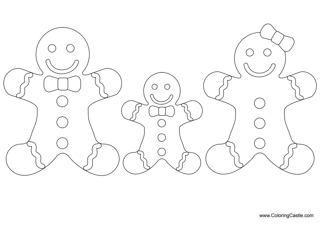 - 15 Best Gingerbread Man Coloring Pages & Activities For Learning Phonics  And Sight Words