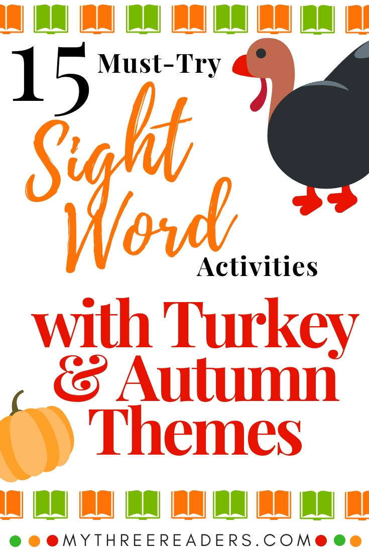 Printable sight word activities