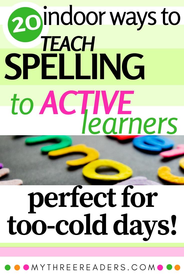 Spelling Activities for Homework