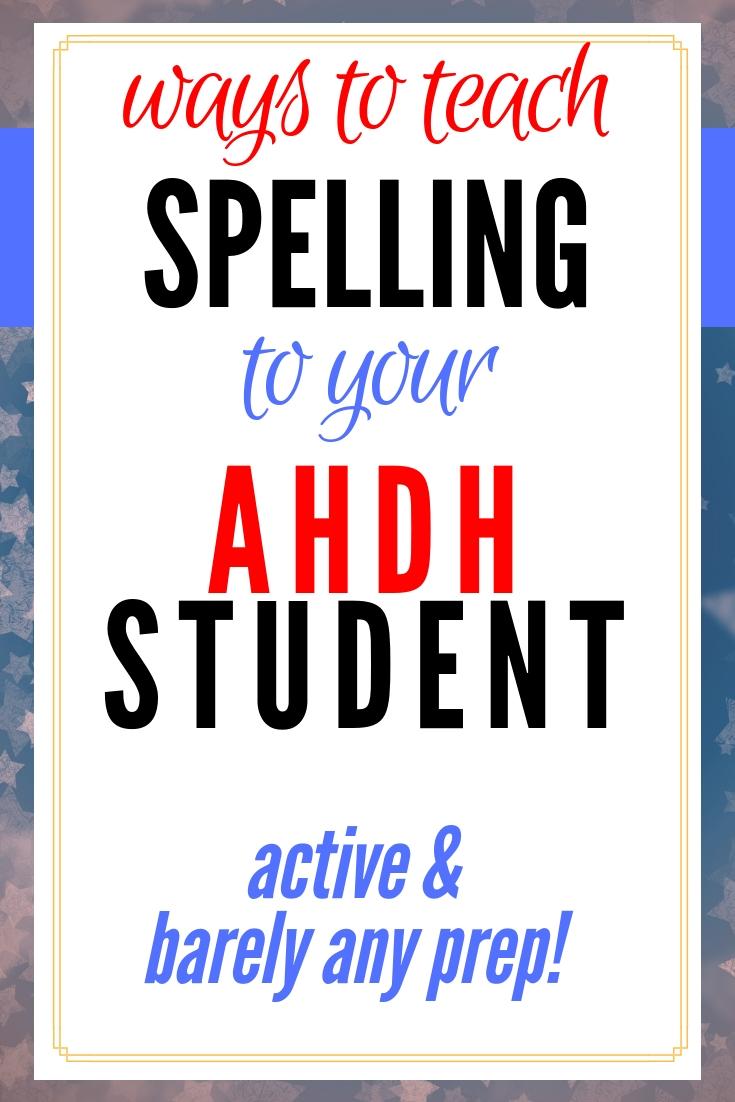 Spelling Activities online
