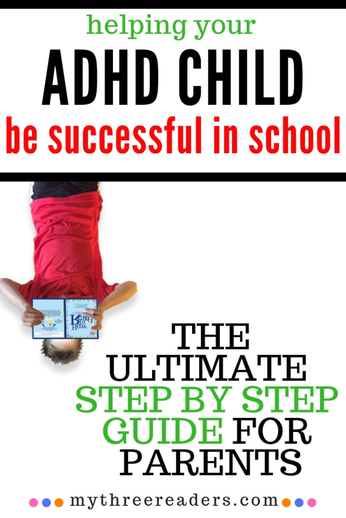 ADHD and Reading, how to help a child with adhd in school