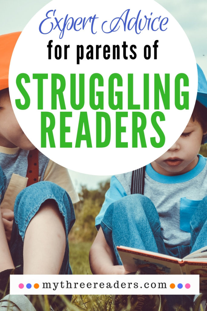 Expert Advice for Struggling Readers