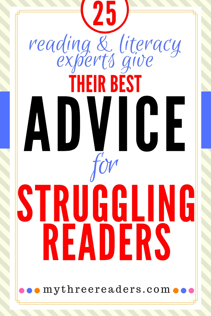 how to help a child struggling in reading