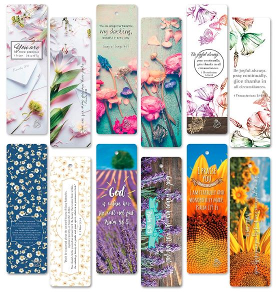 Flower Bookmarks, how to press flowers & make a pressed leaf bookmark