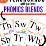 Free Printable Flashcards With Pictures Consonant Blends