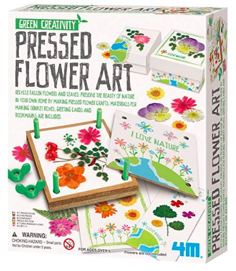 Pressed flower art, printable flower bookmarks
