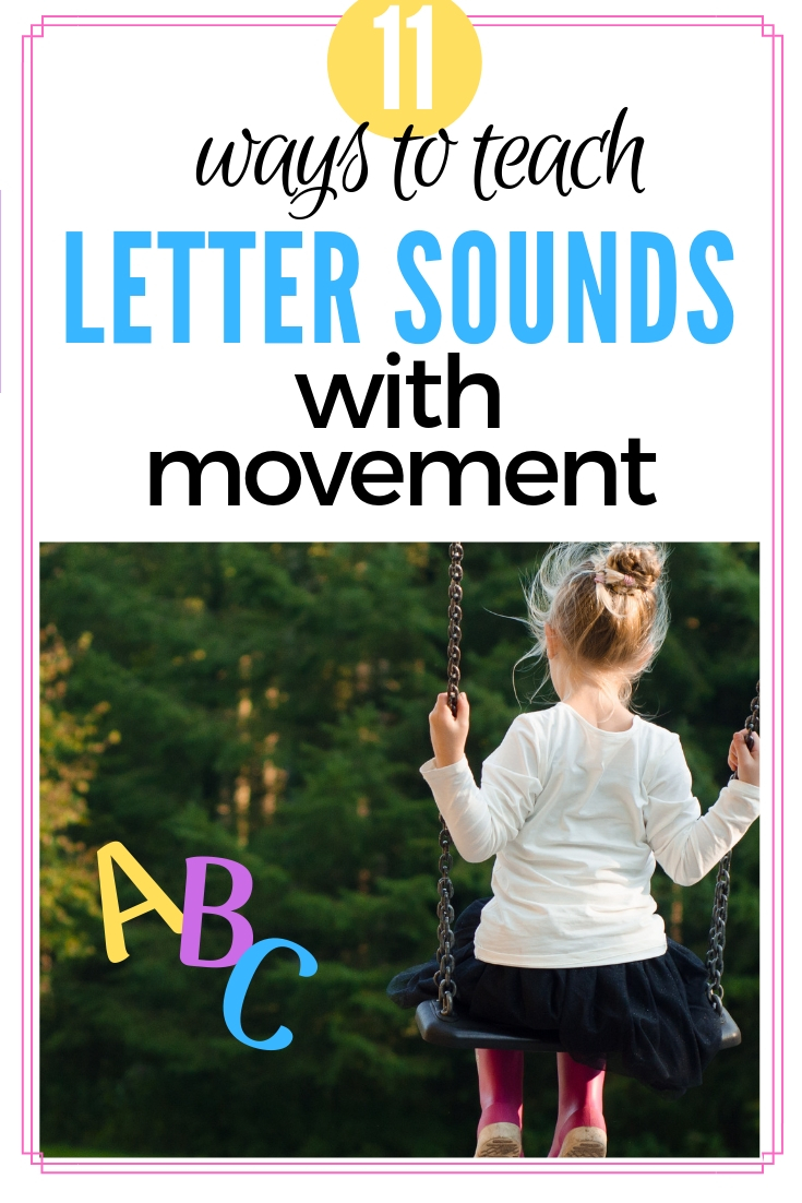 Teaching Letter Sounds with Movement