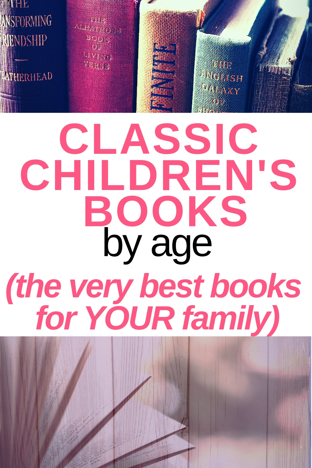 Classic Children's Books by Age and popular elementary school book series for your child