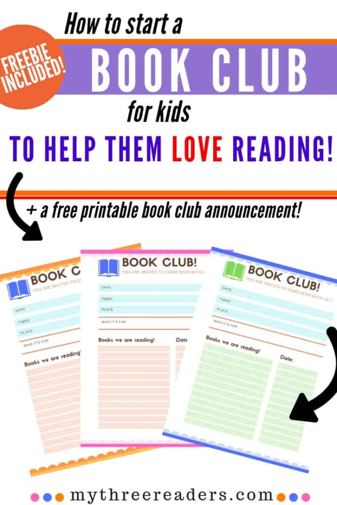 How to Lead a Book Club for Kids, Why have a book club, online book clubs for elementary students & good book club questions for kids