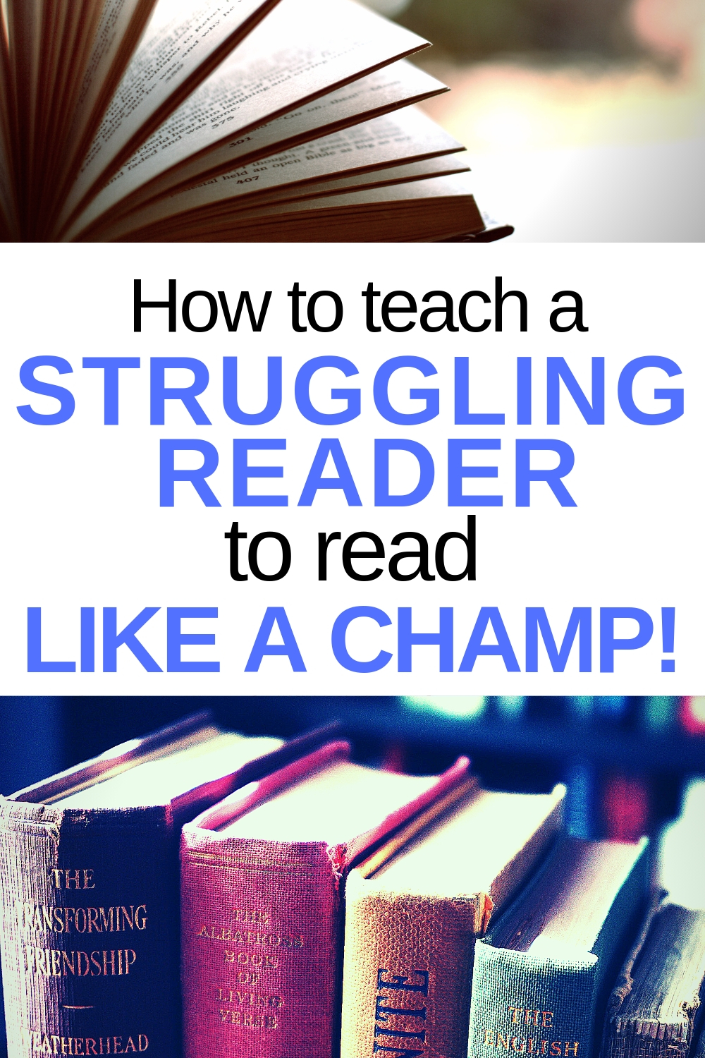 First grader not reading? Here's how to teach a struggling reader.