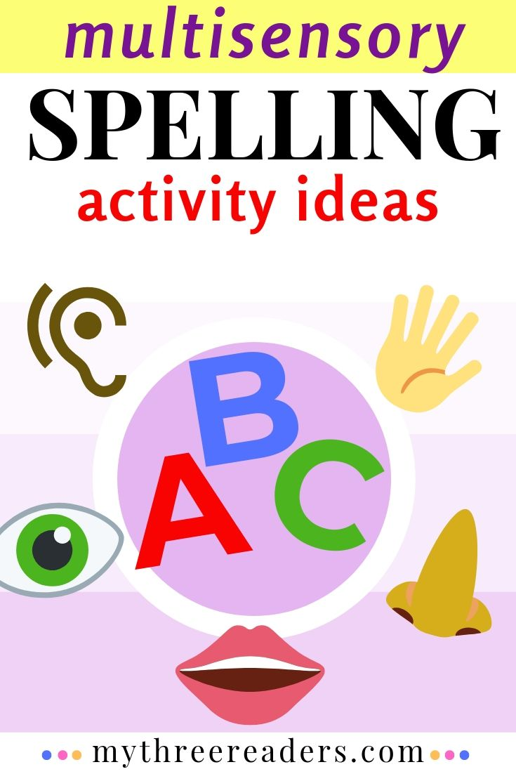 Multisensory spelling lessons and ideas for active learners