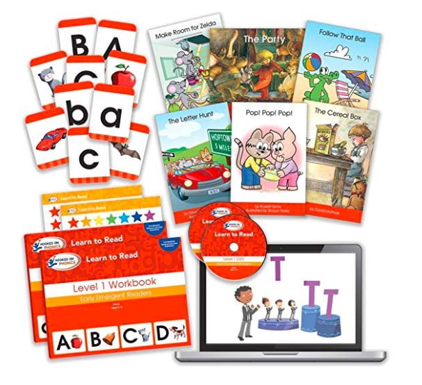 A Look Inside the Hooked on Phonics Complete Kit