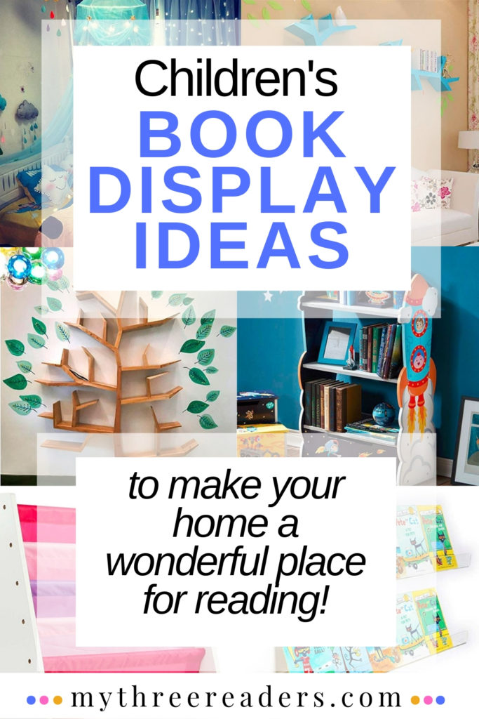 children's book display ideas and reading nook ideas