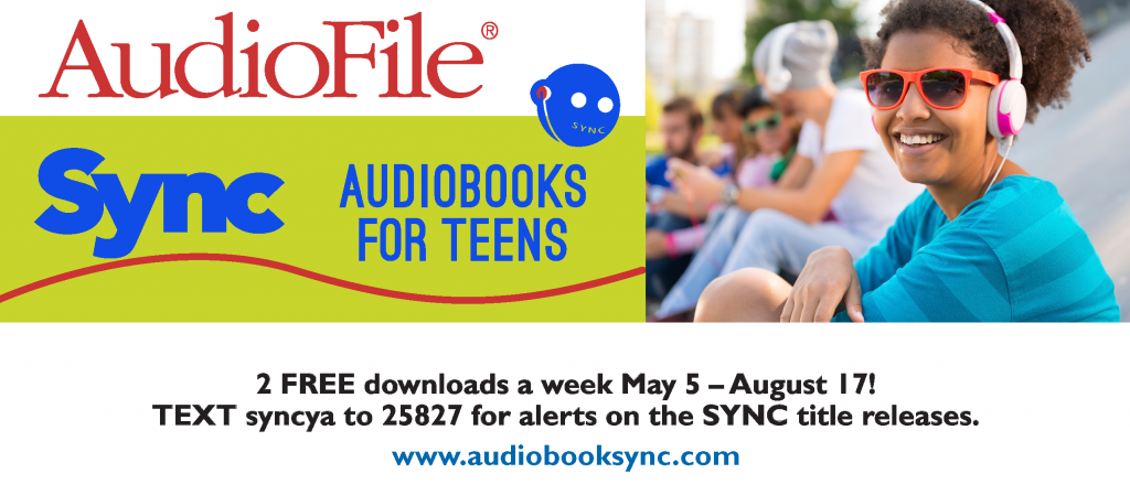 SYNC summer audiobooks for teens