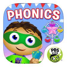 super why reading phonics app