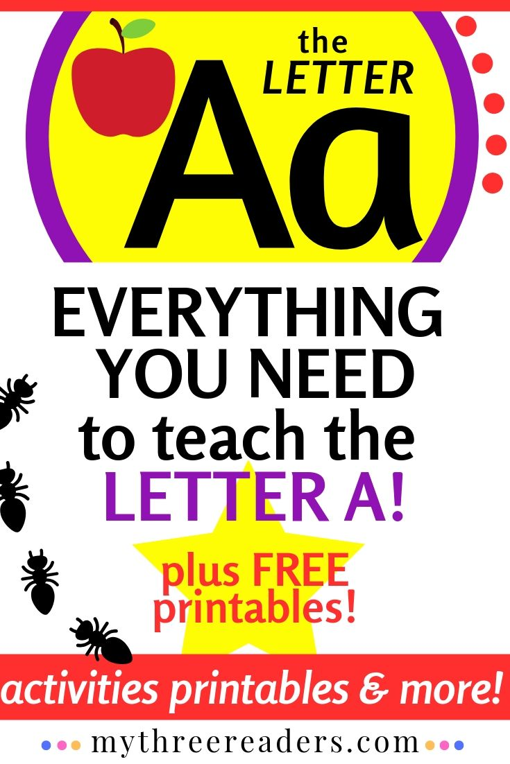 Letter A Activities Printables
