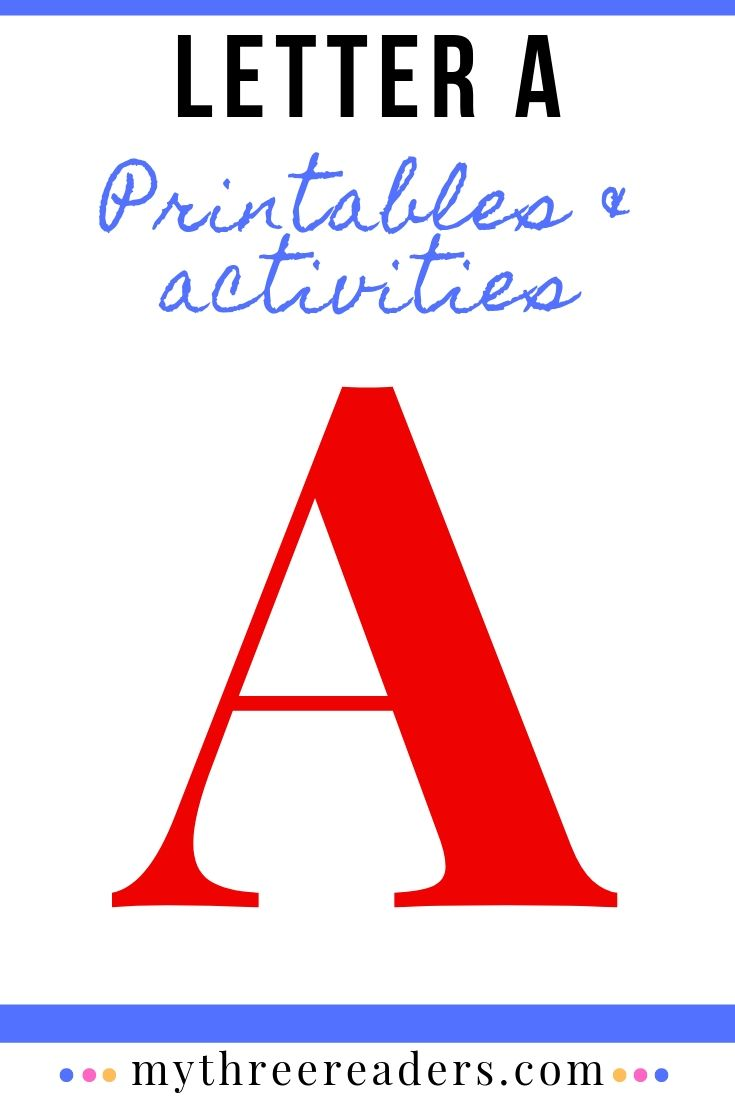 Letter A Activities & Crafts