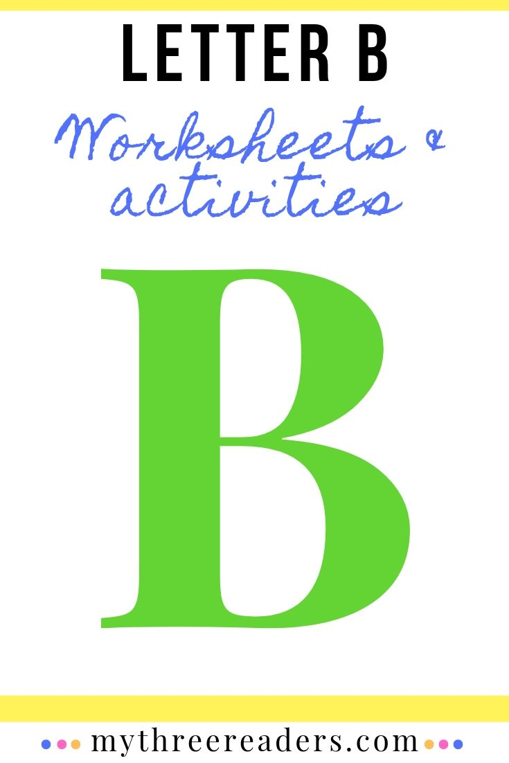 How to introduce letter b