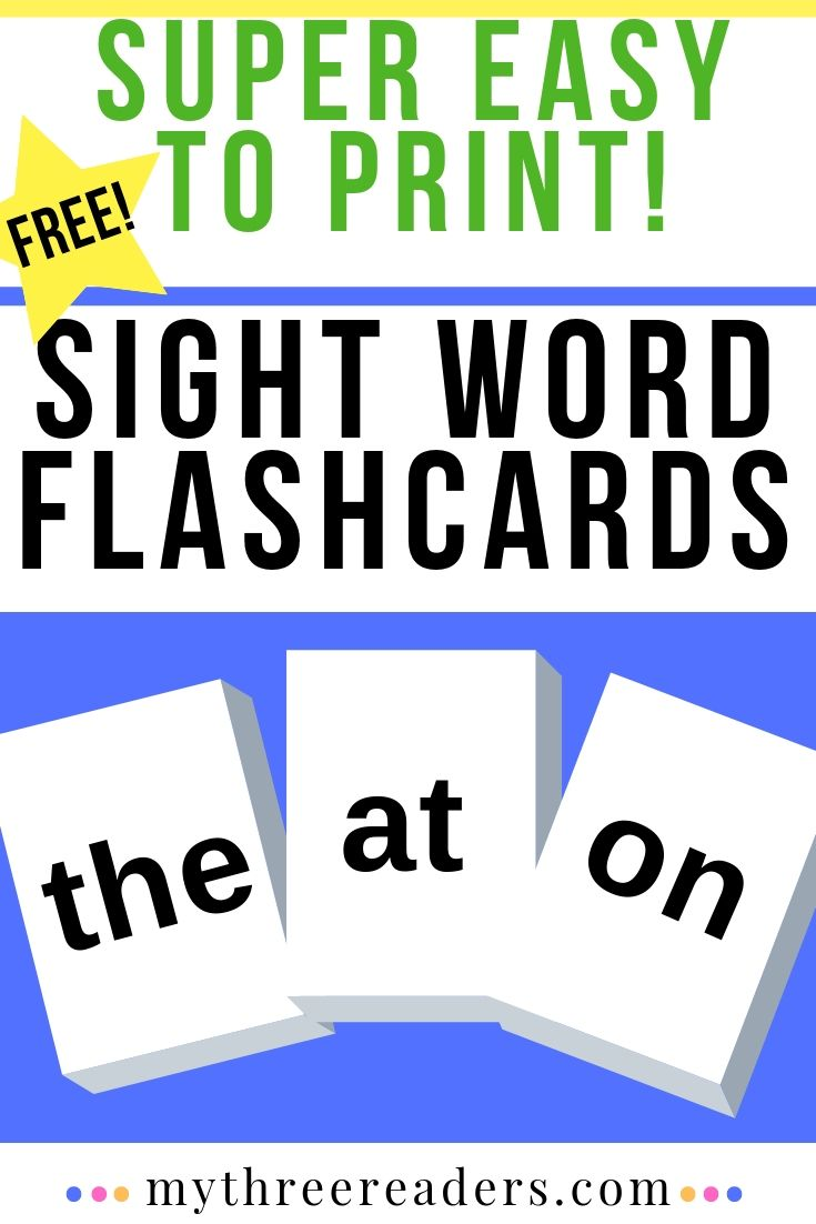 graphic about Printable Sight Word Flash Cards identified as Deliver Your Individual Sight Phrase Flash Playing cards - Totally free, Printable for Your self!