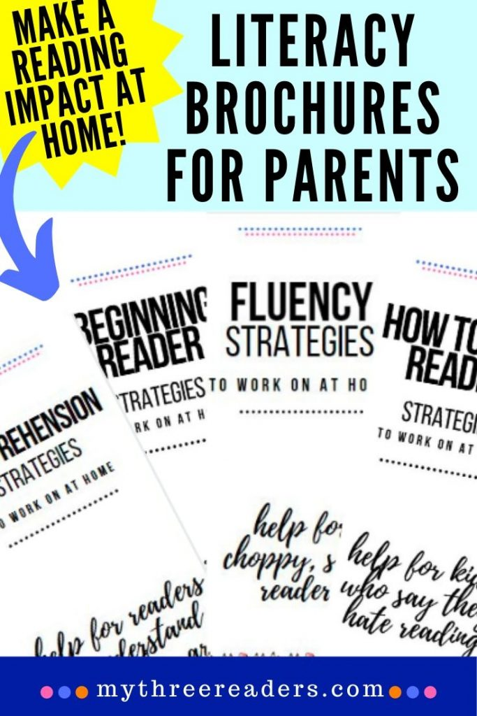 Literacy Brochures for Parents