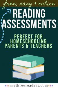 Reading Assessments - Free, Easy & Online