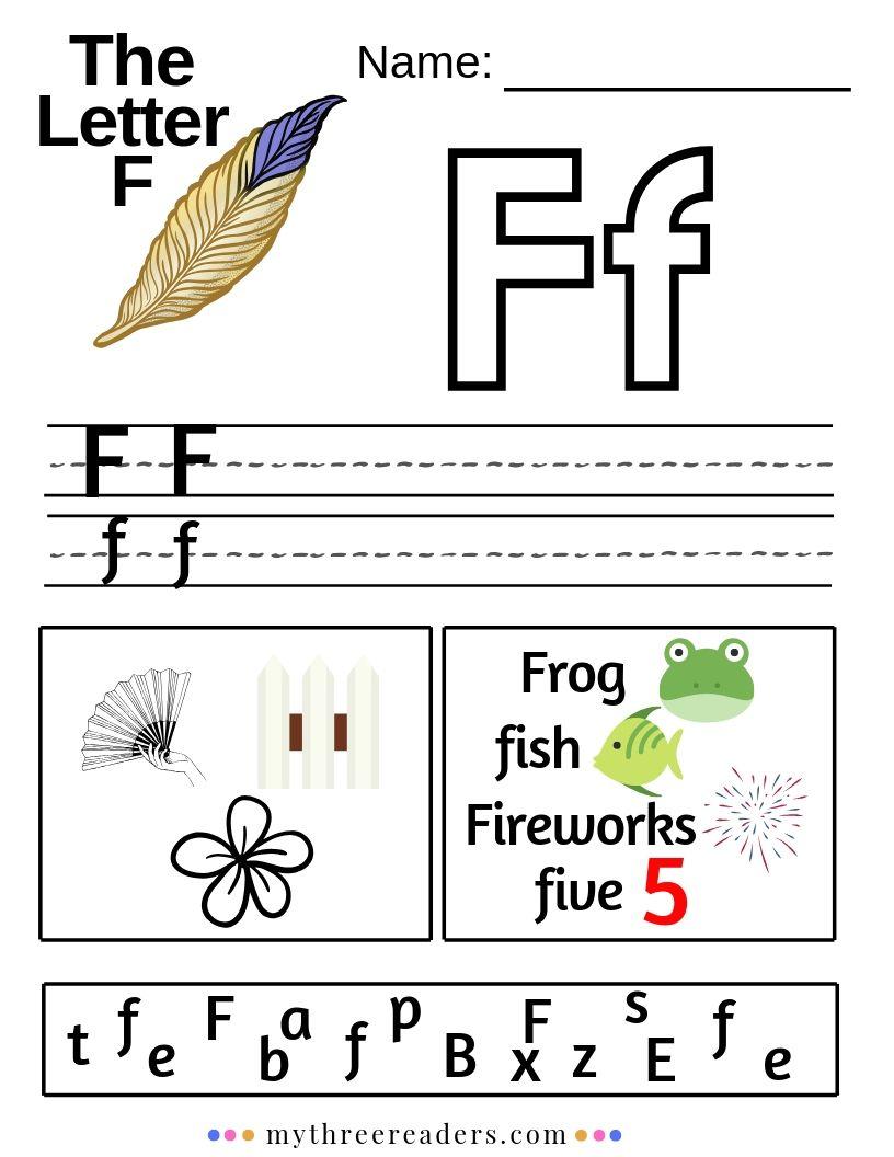 - Letter F Activities For Preschool In 2020