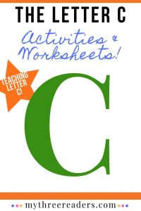 The Letter C – Activities, Worksheets, Songs, Videos & More!