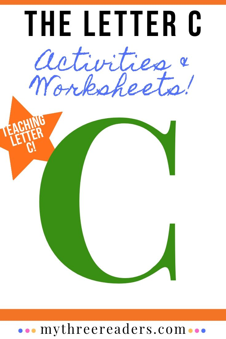 The Letter C Worksheets and Activities