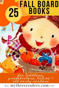 25 Fabulous Fall Board Books for Toddlers
