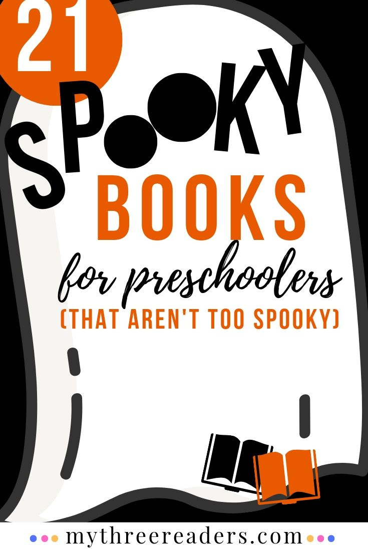 Spooky Books for Preschoolers