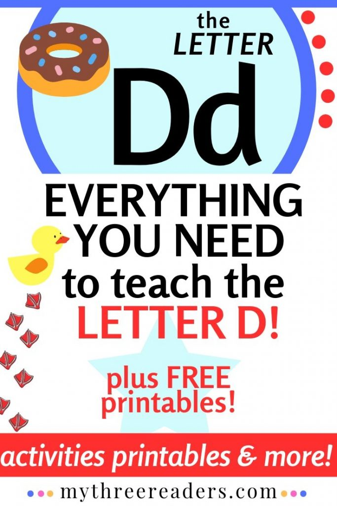 Teaching the Letter D