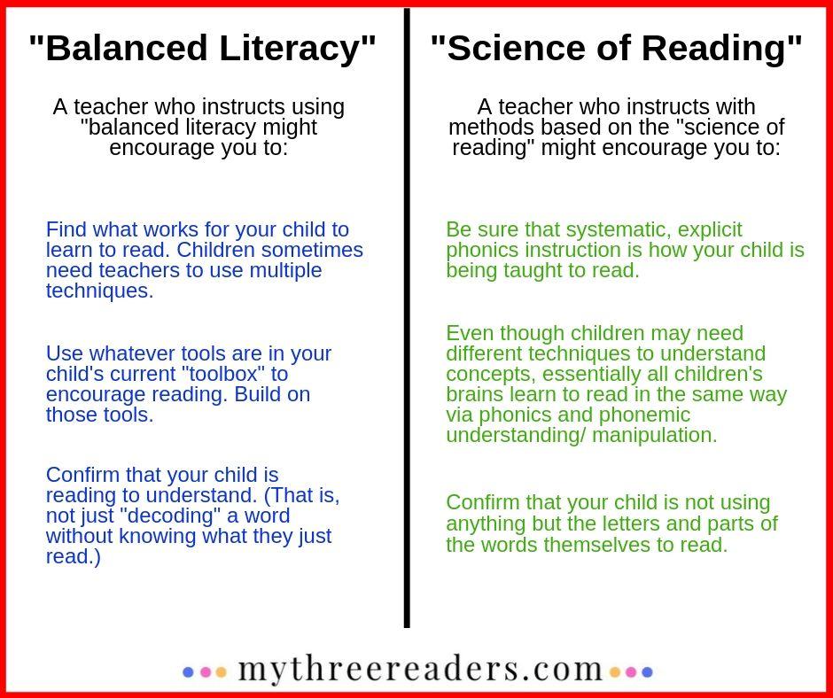 reading teacher advice
