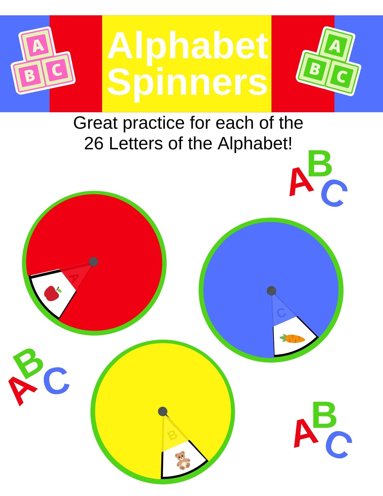 Alphabet Spinner