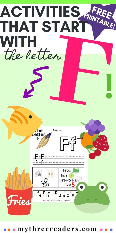 Letter F Activities for Preschoolers