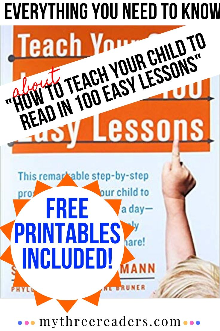 how to teach your child to read in 100 easy lessons
