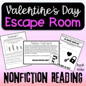 Valentines Day Escape Room