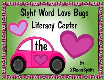sight word love bugs