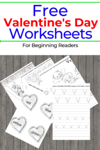 free valentines day worksheets