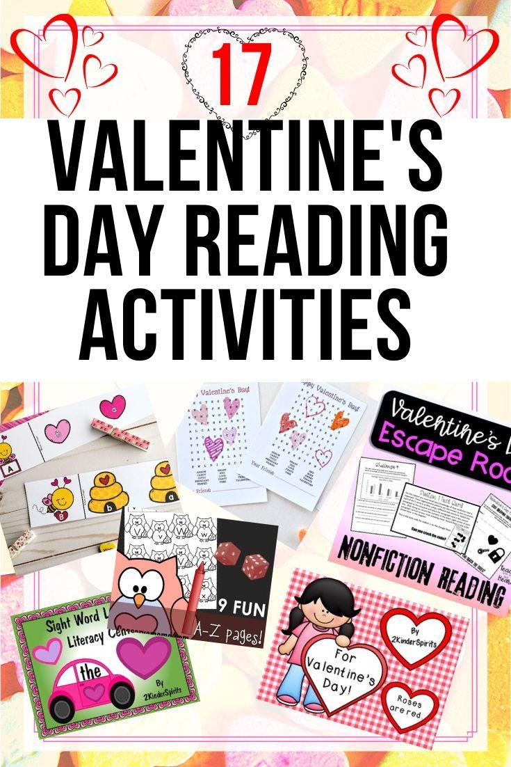 valentine's day reading activities