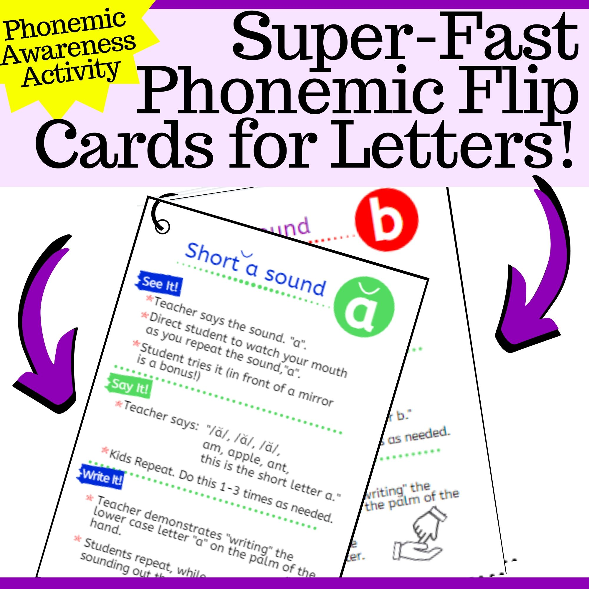 Phonemic Activities for Letters