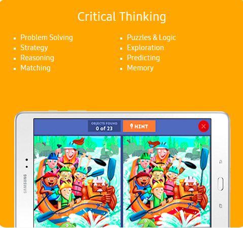 Samsung Kids Critical Thinking Content