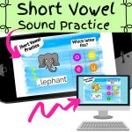 Short Vowel Sound Flashcards