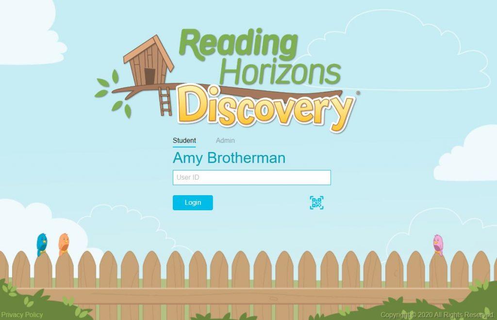 reading horizons elevate login